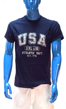USA Athletic Department tee