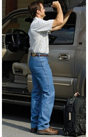 Wrangler Rugged Wear Classic Fit Stretch Jeans