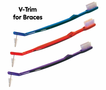 Value Dual-Head Orthodontic Braces Toothbrush