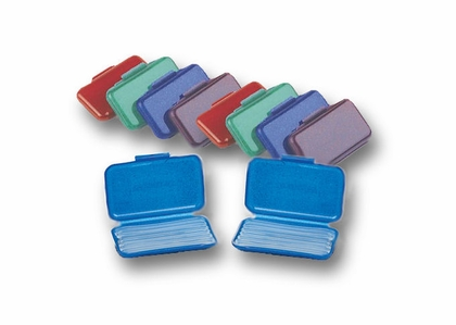 """OrthoSil Silicone Dental """"Wax"""" for Braces - 10 Pack"""