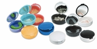 Retainer Case with Mirror - In Black & White and Colors