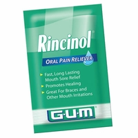 Rincinol PRN Mouth Sore Rinse - Box of 36 Packets