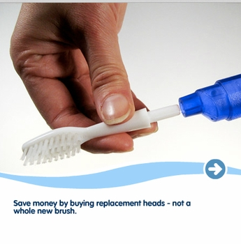 Toob Brush Replacement Brush Heads