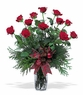 A Dozen Christmas roses - Designs East Florist Dallas