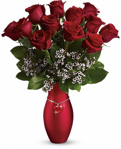 All My Heart Bouquet - Red Roses