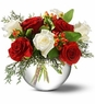 Christmas Rose Bowl