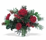 Christmas rose bowl - Designs East Florist Dallas