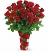 Dancing In Roses Bouquet PM