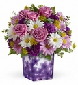 Dancing Violets Bouquet PM