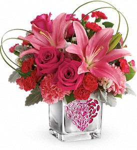 Jeweled Heart Bouquet PM