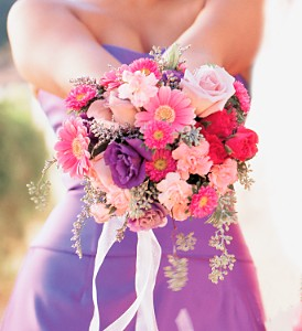 Pink & Purple Bouquet