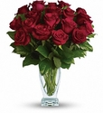 Rose Classique - 18 Red Roses - Deluxe