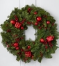 Ruby Reception Holiday Wreath