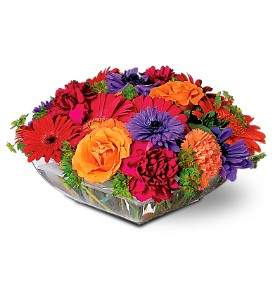 Square Mounded Centerpiece