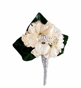 Stock Blossom Boutonniere