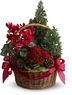 Tannenbaum Basket - Designs East Florist Dallas