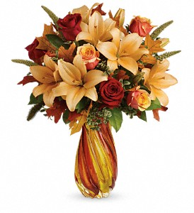 Treasures of Fall Bouquet DX