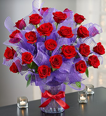 Passion Premium Long Stem Roses