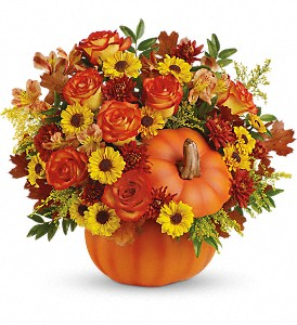 Warm Fall Wishes Bouquet PM