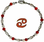 Cancer Astrology Bracelet-- June 21-July 22