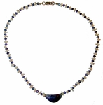 Tanzanite and Opal Crystal Weaver™ Personal Empowerment  Necklace