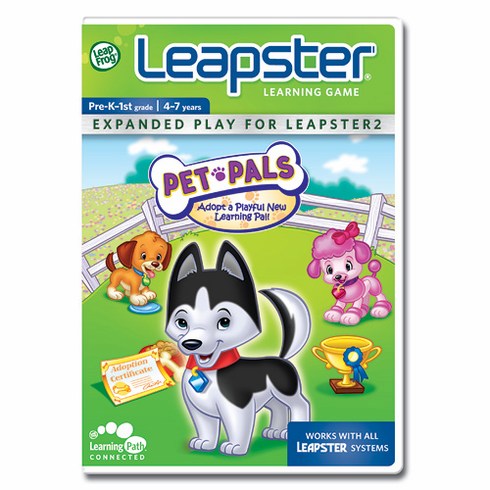 LeapFrog 20375 Pet Pals Learning Game For Leapster