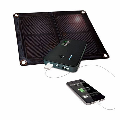 Nature Power 55086-NP Power Bank 5.0 w/6W Solar Panel