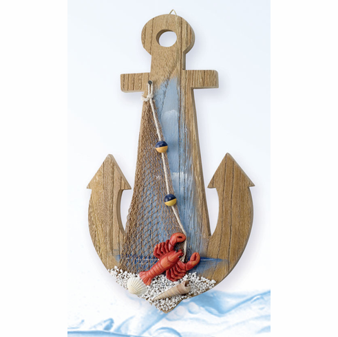 Pelican Bay Nautical Gifts MP-662 11.5 Inch Wooden Anchor