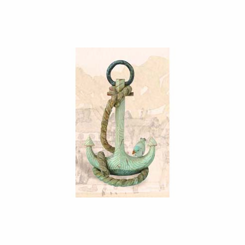 "Pelican Bay PS-1031 11.2"" x 6.9"" x 17"" Polystone Anchor"