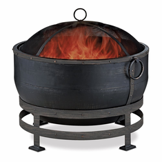 UniFlame WAD1579SP Oil Rubbed Bronze Wood Burning Outdoor Firebowl