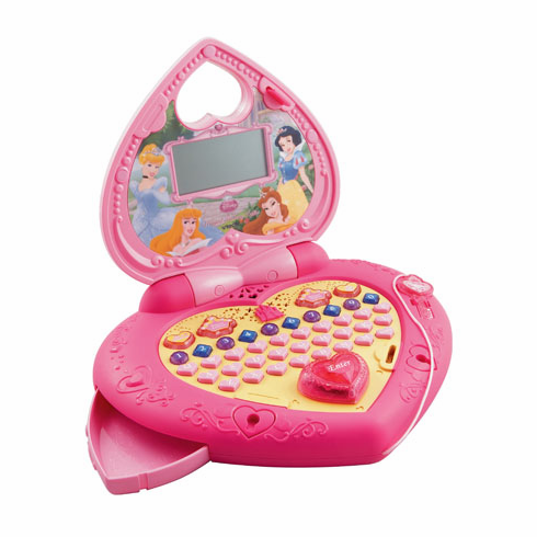VTech 80-110100 Princess Magical Learning Laptop
