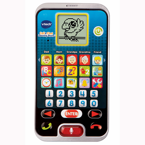 VTech 80-139300 Call & Chat Learning Phone
