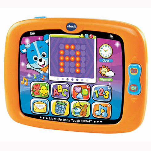 VTech 80-151400 Light-Up Baby Touch Tablet Orange