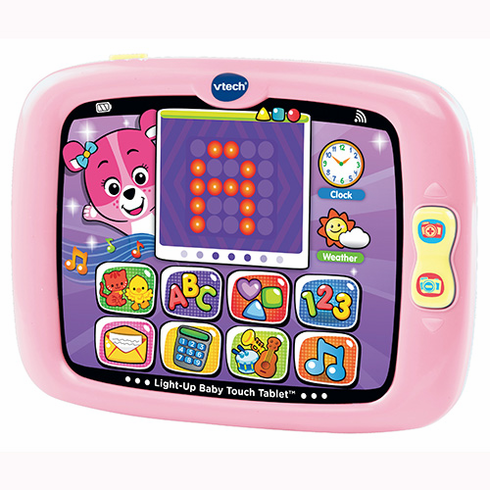VTech 80-151450 Light-Up Baby Touch Tablet Pink
