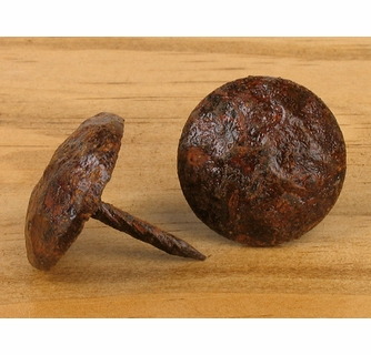 Rusty Hammered Nailhead Clavos Package Of 18