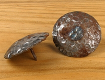 "2"" Dia. Hammered Natural Iron Clavos - Pack of 10"