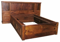3 Piece Mesquite Bed with Trundle