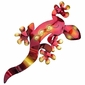 3D Metal Gecko Wall Art - Small