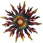 3D Metal Sun Wall Art - Aztec Sun God