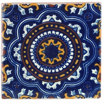 "6"" Talavera Tile - PP2278 - 10 Tiles"