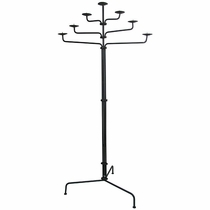 7-Tier Iron Floor Candleholder