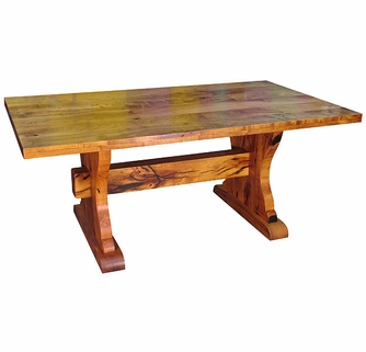 Inch Ranch Style Mesquite Table - Ranch style table
