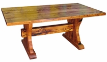 72 Inch Ranch Style Mesquite Table