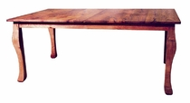 "72"" Mesquite Table with Leaf"