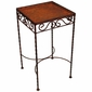 9 Tile Iron Side Table  - Blank
