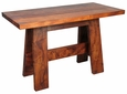 A-Frame Mesquite Console Table