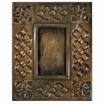 Aged Tin 2x3 Celtic Picture Frame