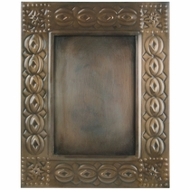 Aged Tin 5x7 Celtic Picture Frame