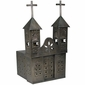 Mexican Aged Tin Church Luminaria