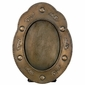 Aged Tin Oval Picture Frames